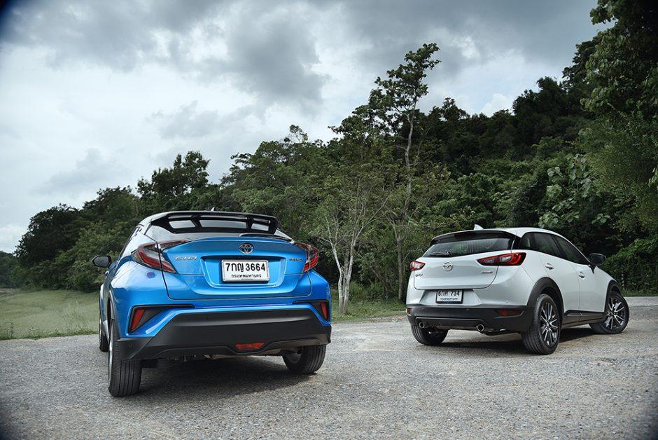 เปรียบเทียบ Toyota-C-HR-Mazda CX-3-3.jpg