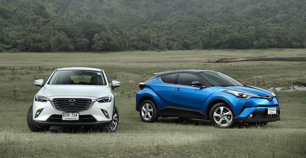 เปรียบเทียบ Toyota-C-HR-Mazda CX-3-2.jpg