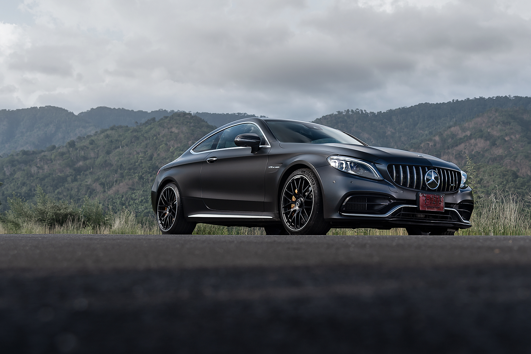 Mercedes-AMG C 63 S Coupe'