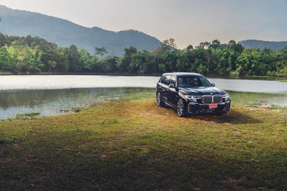 รีวิว ทดสอบ BMW X7 M50d
