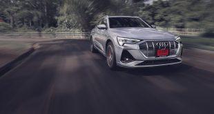รีวิว ทดสอบ Audi e-tron Sportback 55 quattro