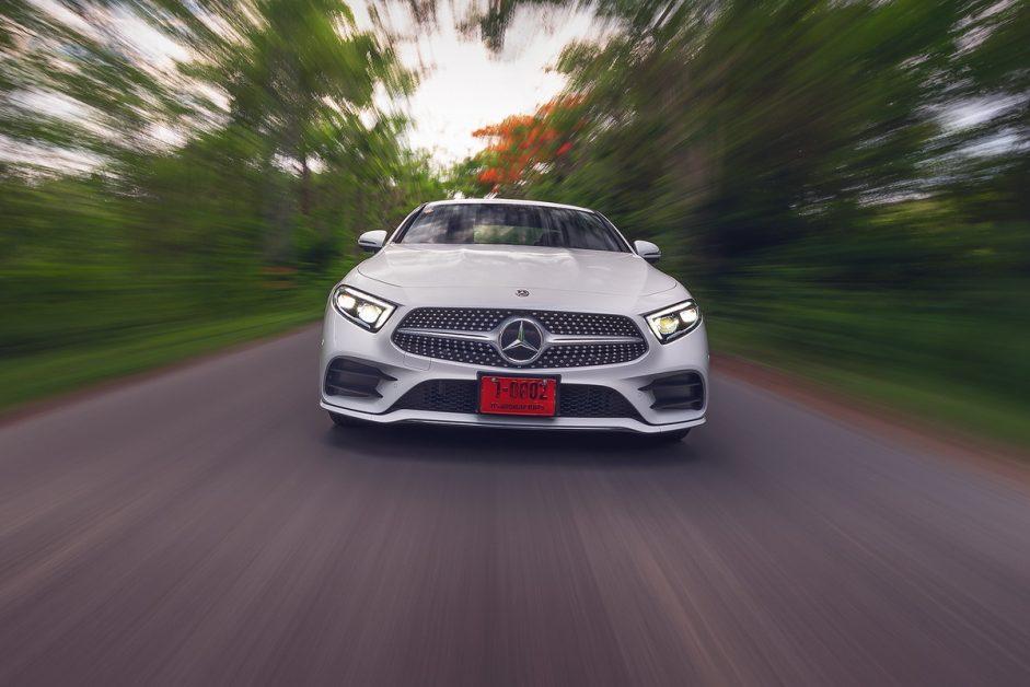 รีวิว ทดสอบ Mercedes-Benz CLS 220 d AMG Premium