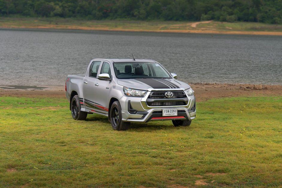 รีวิว ทดสอบ Toyota Hilux Revo Double Cab Z Edition 4x2 2.4 Mid (RazerPackage)