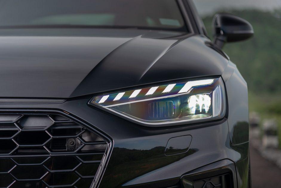 รีวิว ทดสอบ Audi A4 Avant 45 TFSI quattro S-Line Black Edition