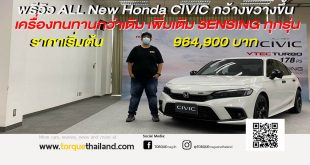 All-new 11th Generation Civic